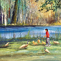 Wautoma Mill Pond by Ryan Radke