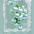Wedding Happiness Greeting Card - Lily Of The Valley Flowers by Mother Nature