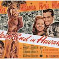 Week-end In Havana, Cesar Romero by Everett