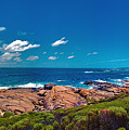 Western Australia Beach Panorama Margaret River by David Zanzinger