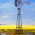 Western Windmill by Dorothy Nalls