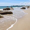 Westport Harbor Low Tide by AnnaJanessa PhotoArt