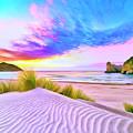 Wharariki Beach by Dominic Piperata