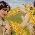 When Flowers Return by Sir Lawrence Alma-Tadema