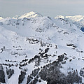Whistler Mountain Panorama by Pierre Leclerc Photography