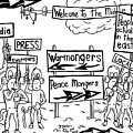 Who Wants What In The Middle East By Yonatan Frimer by Yonatan Frimer Maze Artist
