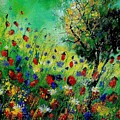 Wild Flowers 670130 by Pol Ledent