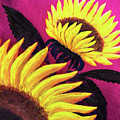 Wild Sunflowers by Laura Iverson