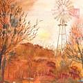 Wilderness Windmill by Sharon Mick