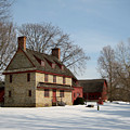 William Brinton House 1704 by Gordon Beck