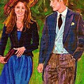 Wills And Kate The Royal Couple by Carole Spandau