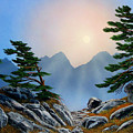 Windblown Pines by Frank Wilson