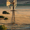 Windmill At Dusk by Melanie Rainey