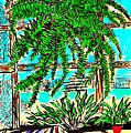 Window Loving Fern by Al Goldfarb