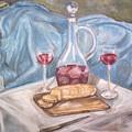 Wine And Bread by Joseph Sandora Jr