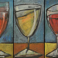 Wine Trio - Option One by Tim Nyberg