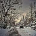 Winter Landscape by Mikki Cucuzzo