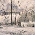 Winter Landscape by Paul Gauguin