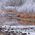 Winter River by Bruce Gilbert