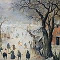 Winter Scene by Hendrik Avercamp