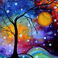 Winter Sparkle By Madart by Megan Duncanson