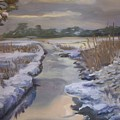 Winter Stream by Georgeanne Wayman