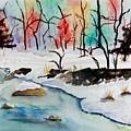 Winter Stream by Jimmy Smith