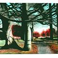 Winter Trees by Marie Higgins