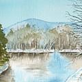Winter's Daylight Chill  by Brenda Owen