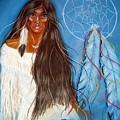 Wolf Woman by Jo Hoden