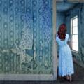 Woman In Abandoned House by Jill Battaglia
