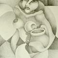 Woman With A Pitcher by Dagmara Czarnota