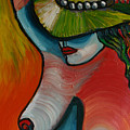 Woman With Hat by Gideon Cohn