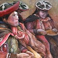 Women Of The Andes by Jun Jamosmos