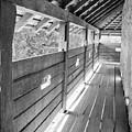 Wooden Balcony by Gabriela Insuratelu