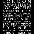 World Cities Bus Roll by Michael Tompsett