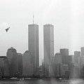 World Trade Center And Opsail 2000 July 4th Photo 18 B2 Stealth Bomber by Sean Gautreaux