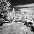Wrecking Yard In Infrared 3 by Lee Santa