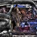 Wrecking Yard Study 1 by Lee Santa