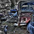 Wrecking Yard Study 13 by Lee Santa