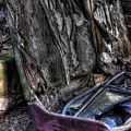 Wrecking Yard Study 7 by Lee Santa
