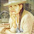 Ws1995dc003 Ana 15x19.75 by Alfredo Da Silva