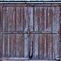 Wyoming Blue Doors by Lenore Senior