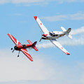 Yak 55 And Yak 18 by Larry Keahey