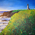 Yaquina Head Light by Phil Cashdollar
