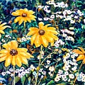 Yellow Daisies by Norma Boeckler