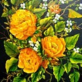 Yellow Roses by Theresa Jefferson