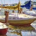 Yellow Sails by Joan DaGradi