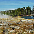 Yellowstone Hot Springs by Michael Peychich