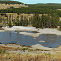 Yellowstone Mineral Ponds by Michael Peychich